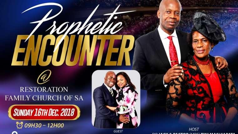 Prophetic Encounter, Pretoria, South Africa