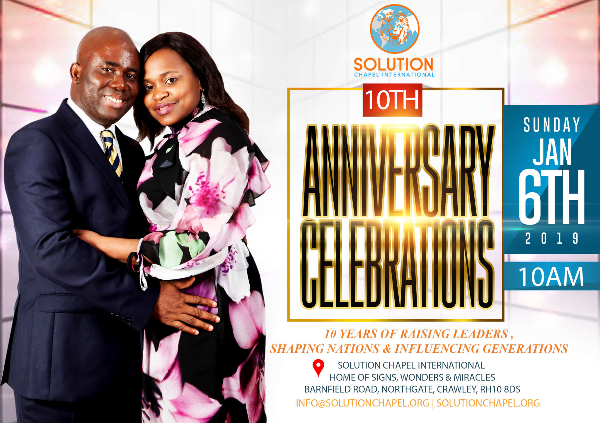 10th Anniversary Solution Chapel International