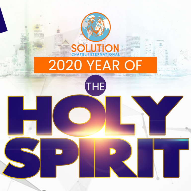 2020 THE YEAR OF THE HOLY SPIRIT