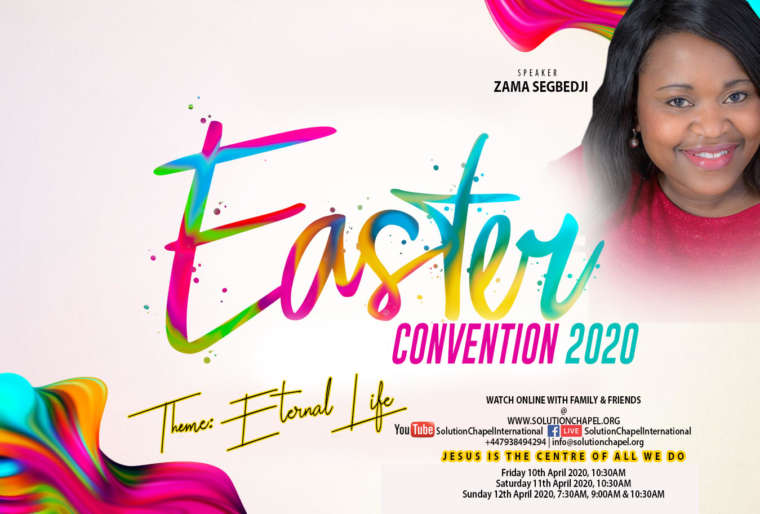 EASTER CONVENTION 2020