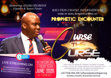 Prophetic Encounter – Curse the Curse