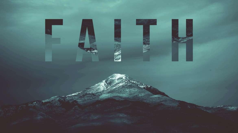 How to use your Faith