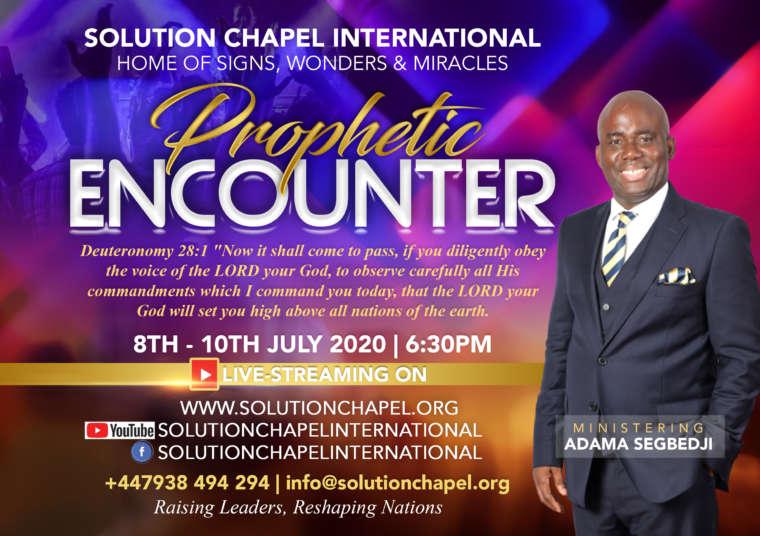 July Prophetic Encounter