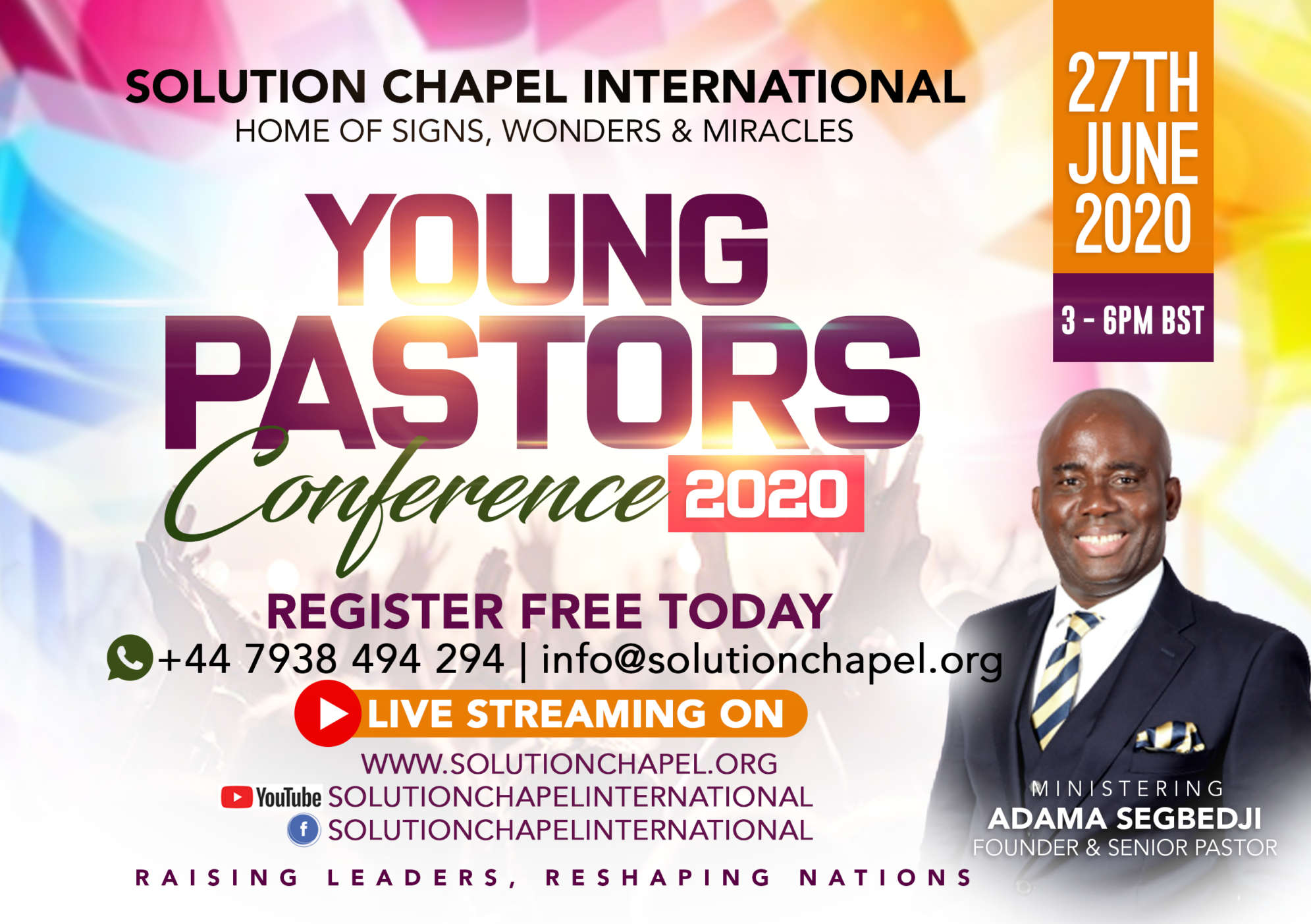 """Young Pastors Conference 2020"""