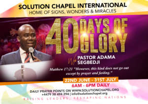 """ 40 Days of Glory 
