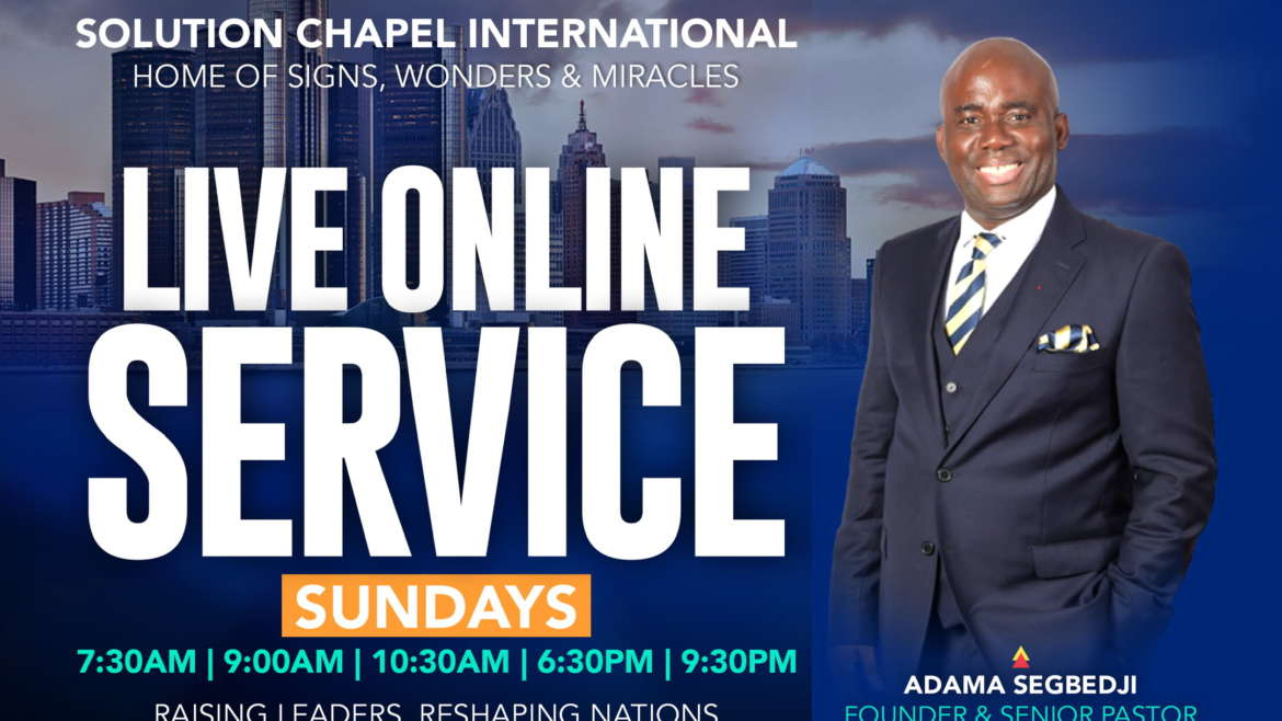 Live Online Church Service
