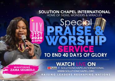 40 Days of Glory – Day 40