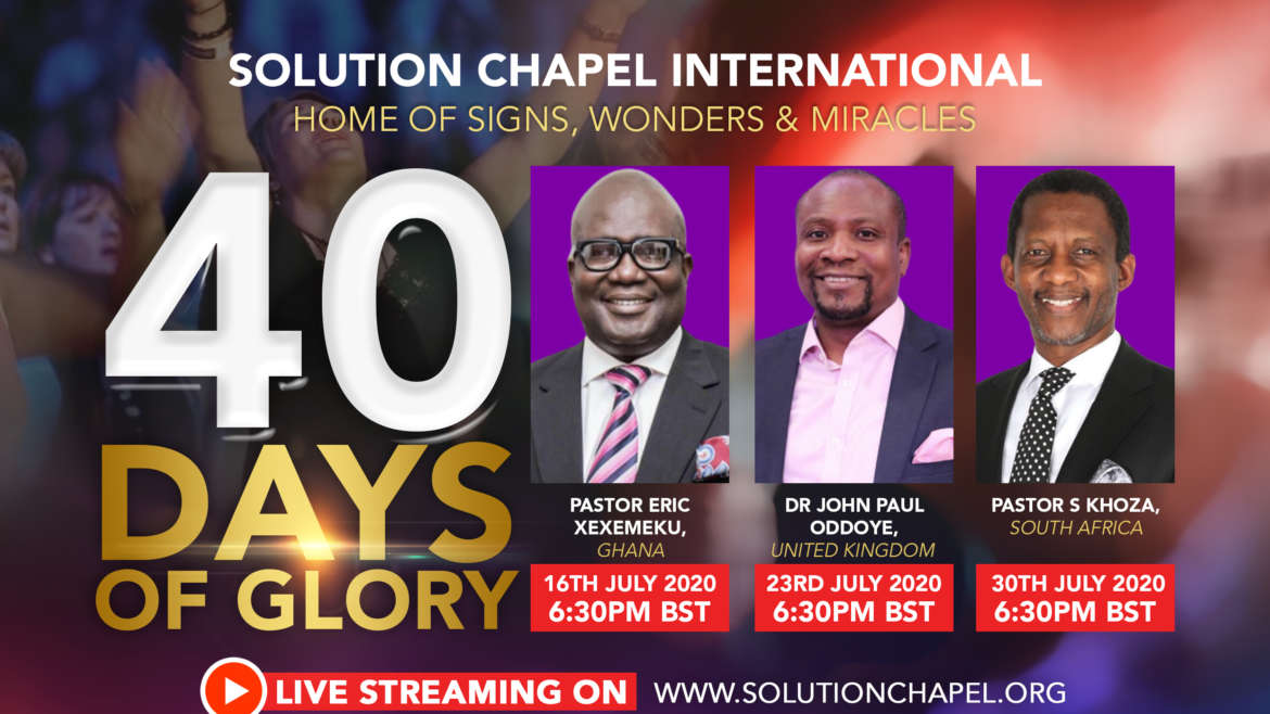 40 Days of Glory – Day 38