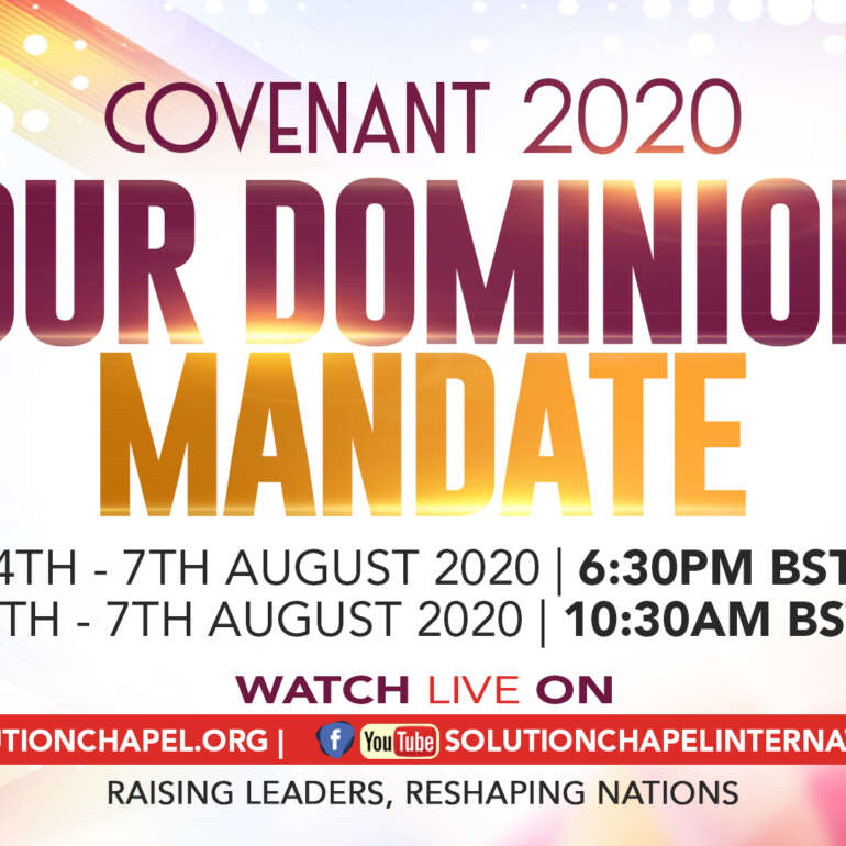 Pre-Covenant 2020 Prayer Points – Day 1