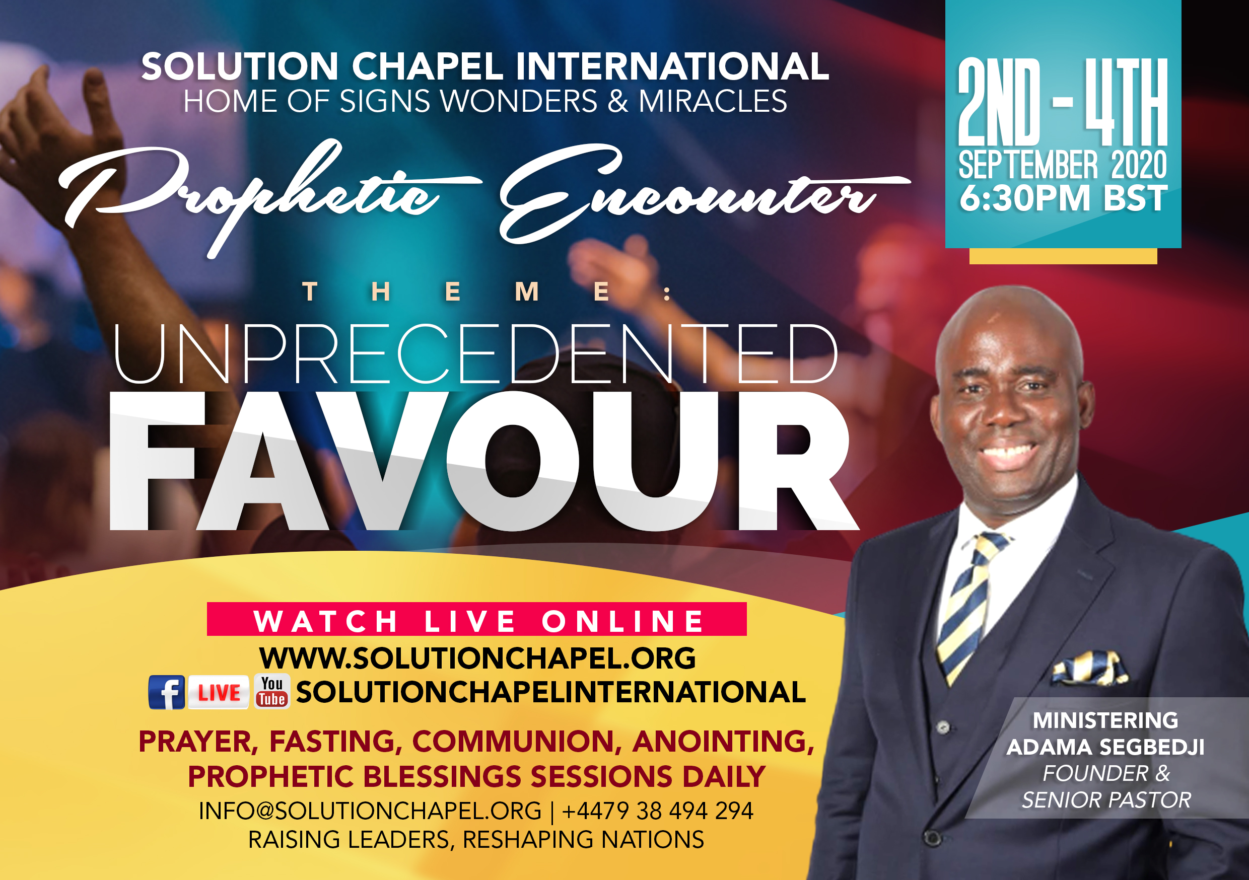 """Prophetic Encounter"""