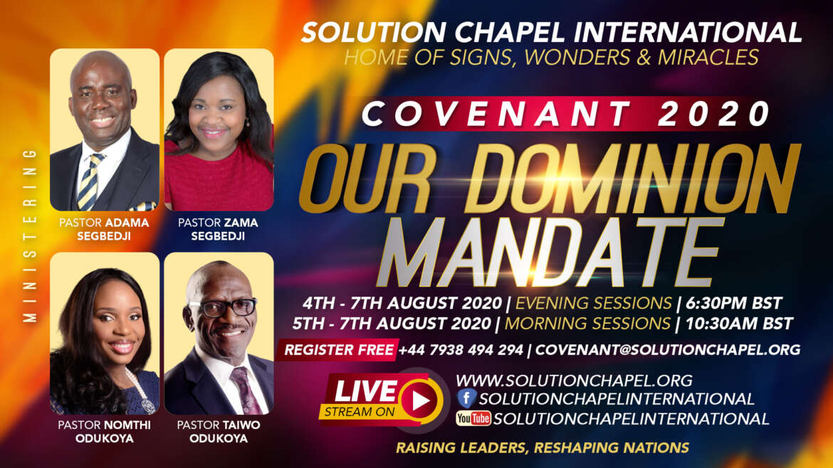Pre-Covenant 2020 Prayer Points  – Day 2