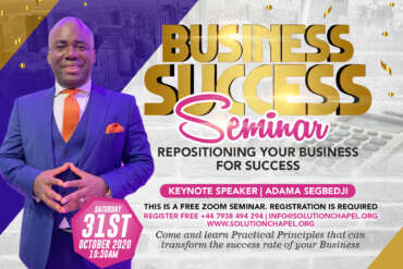 Business Success Seminar