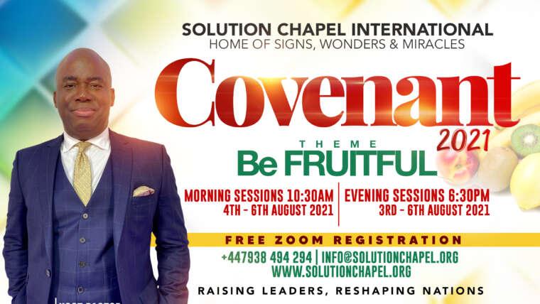 Covenant 2021 | BE FRUITFUL
