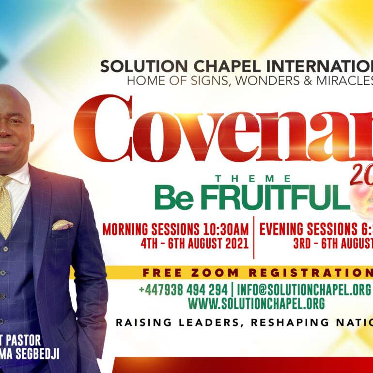 Prepare for Covenant 2021 | Be Fruitful