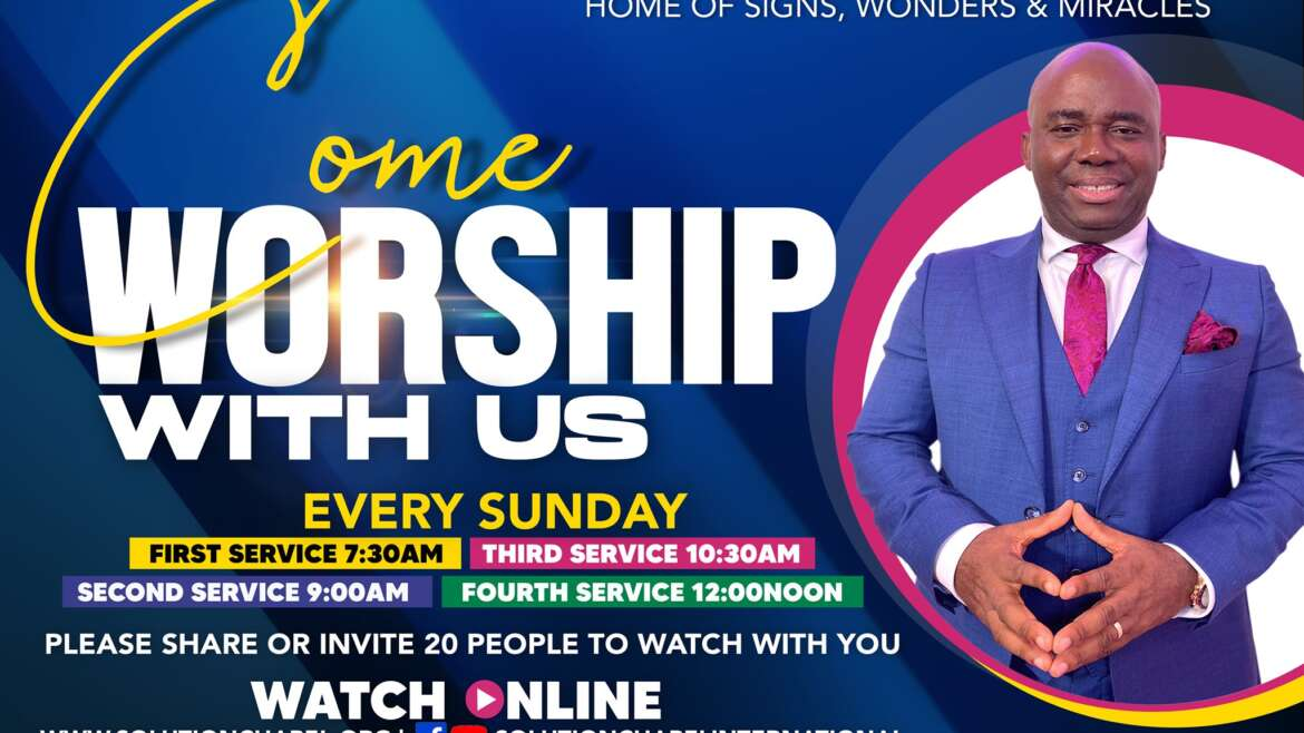 Sunday 4th Service on ZOOM